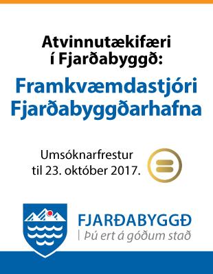 Fjarðabyggðarhafnir - Framkvæmdastjóri