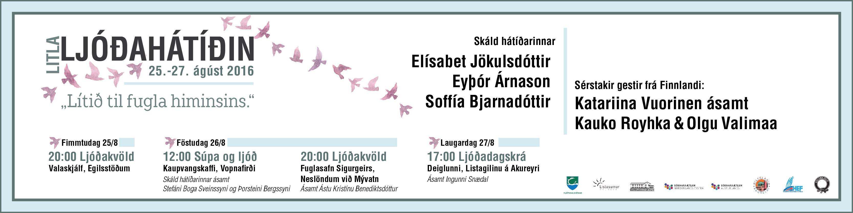 Litla ljóðahátíðin 2016