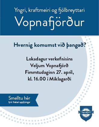 Vopnafjörður - Málþing 2017