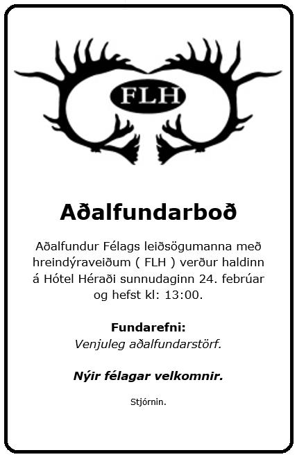 FLH Aðalfundarboð 2019