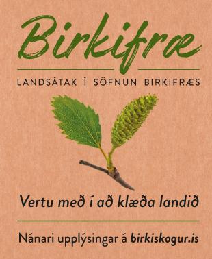 Birkifræátak - Landgræðslan