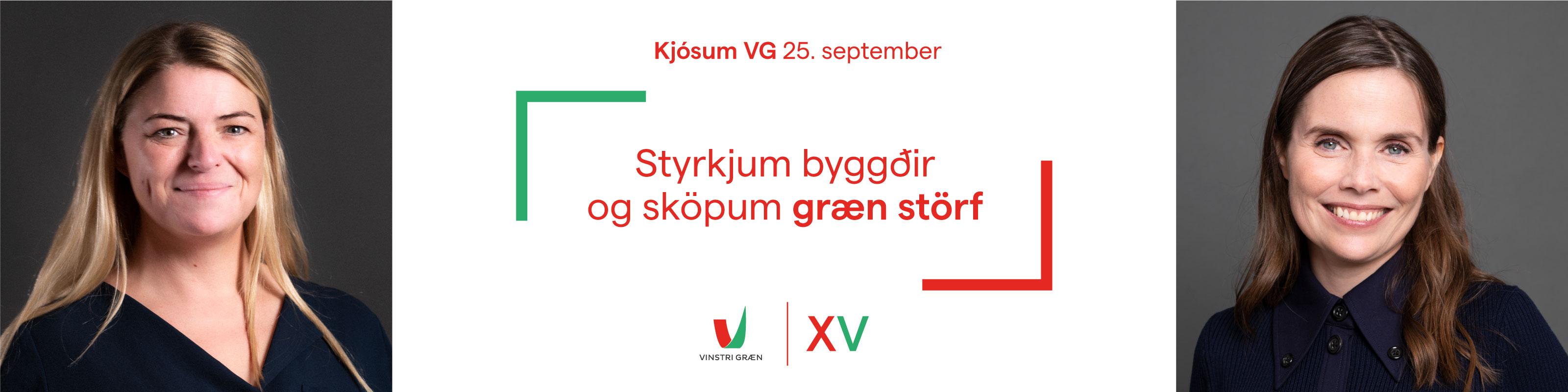 VG - kosningar - sept 2021