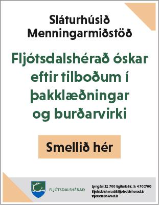 Fljótsdalshérað - Útboð - Sláturhús