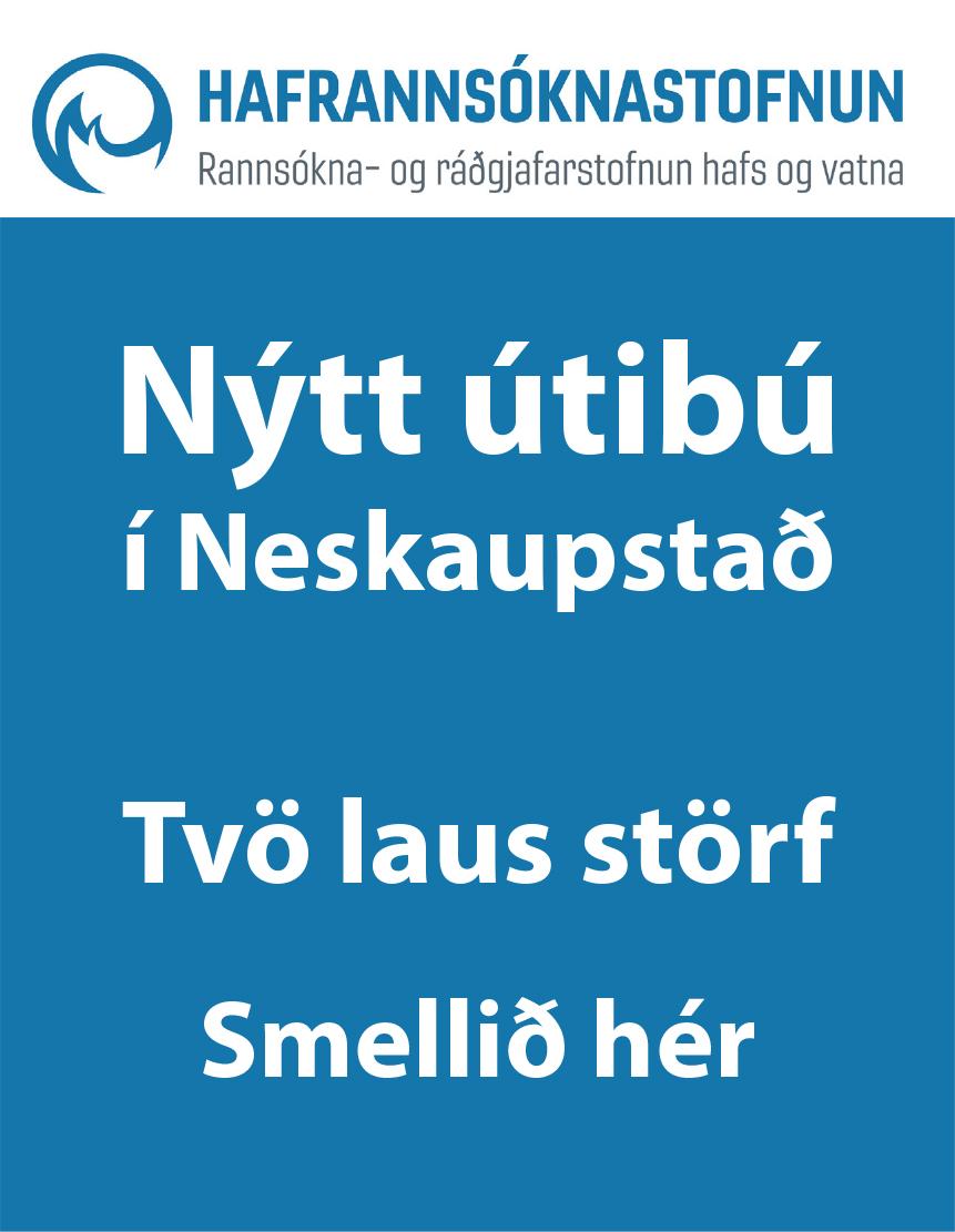 Hafró - Tvö störf í Neskaupstað