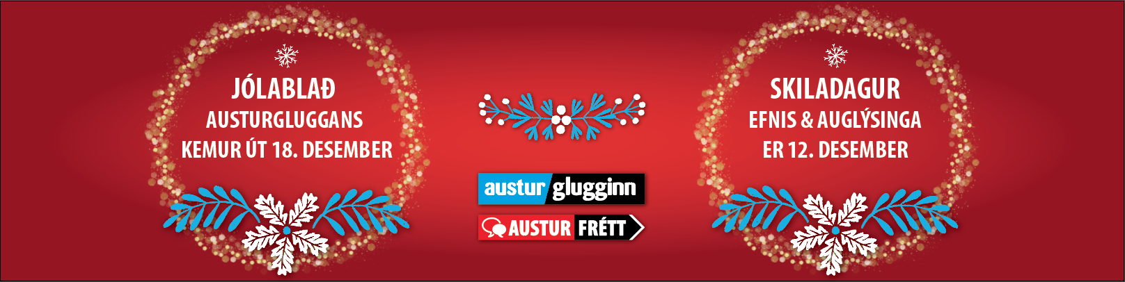 Jólablað Austurglugginn Austurfrétt 2018