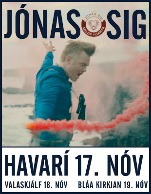 Havarí Jónas Sig 2018